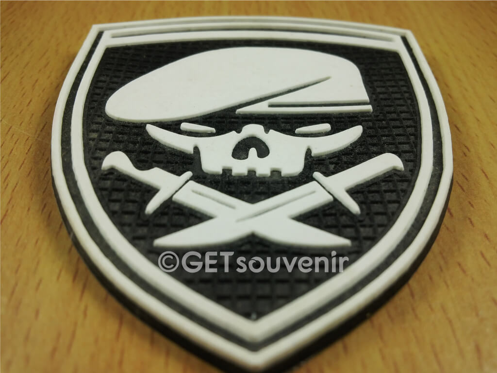 SKULL PATCH RUBBER