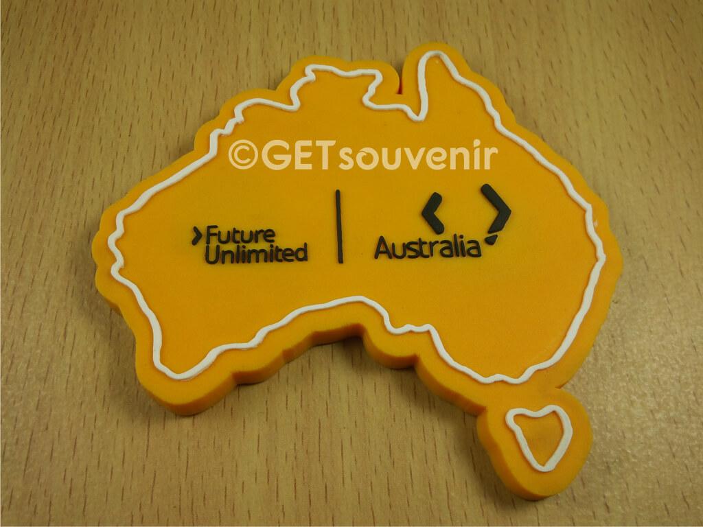 australia rubber magnet