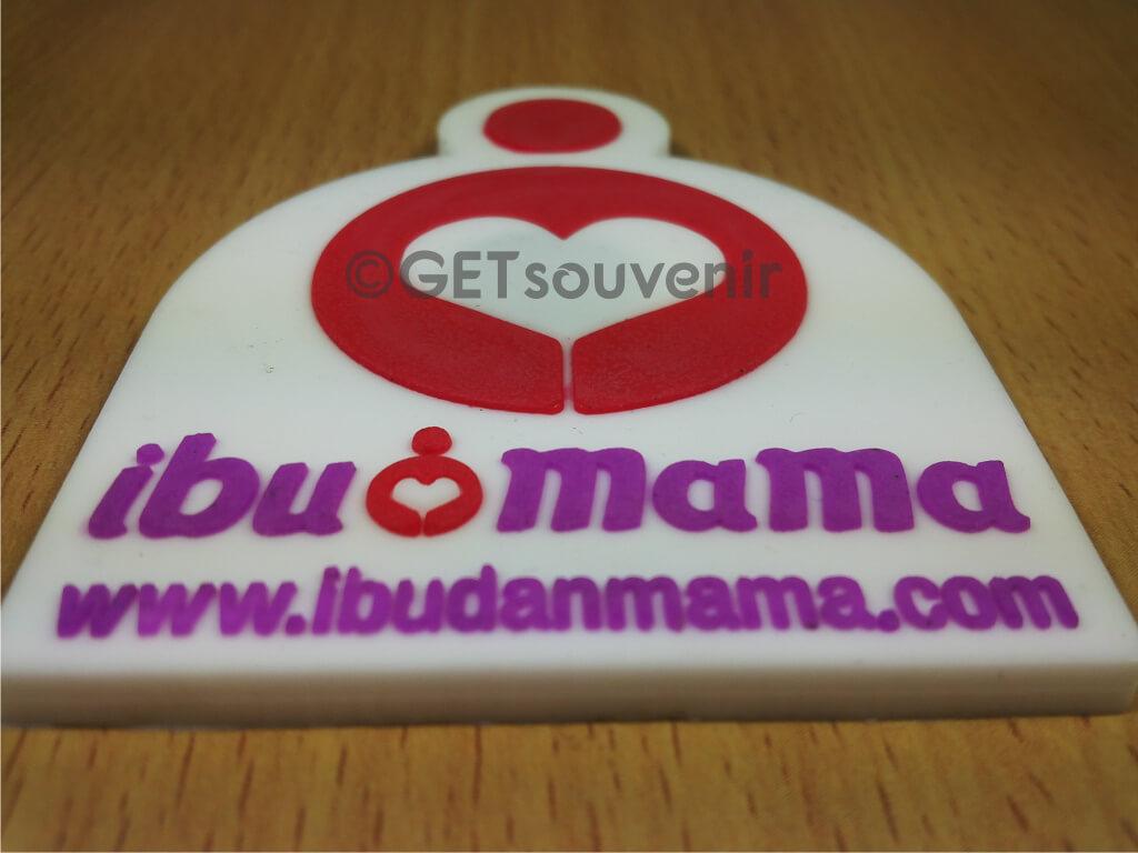 IBUDANMAMA.COM RUBBER MAGNET