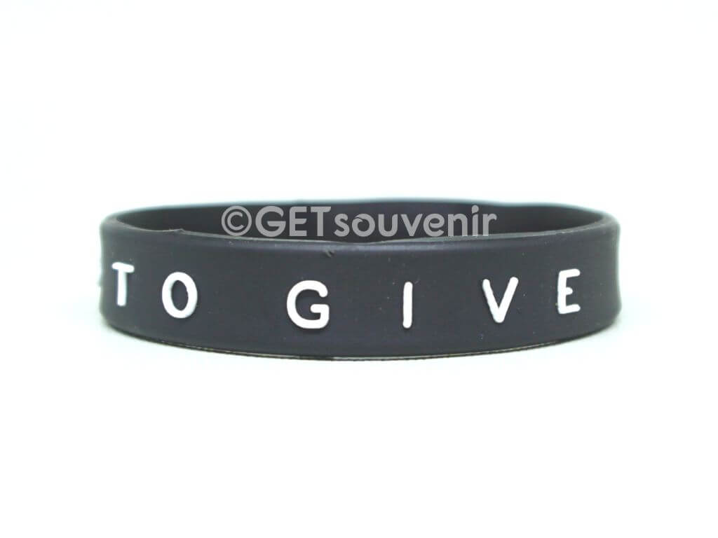 TO LIVE TO GIVE