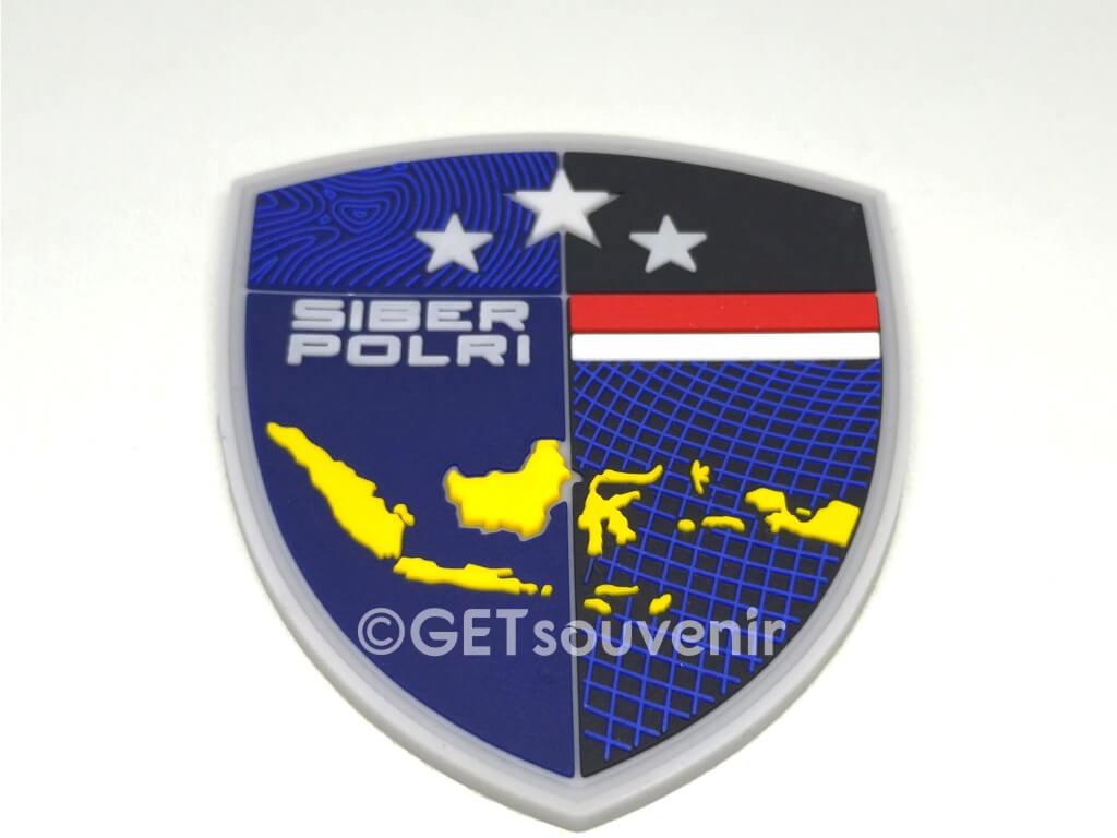 emblem label karet patch rubber